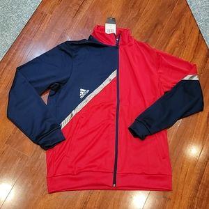 NWT Men's size L Adidas track jacket